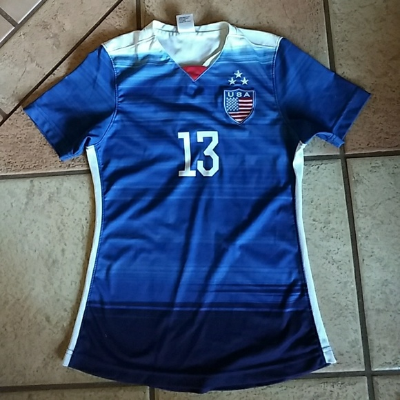 new arrival 3811c d26ac Girl's National Team Soccer Jersey